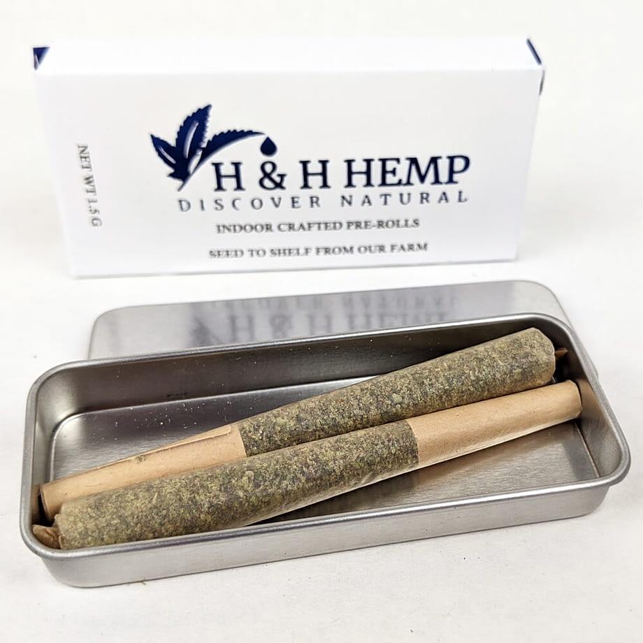 H & H Hemp Kief Pre-Rolls